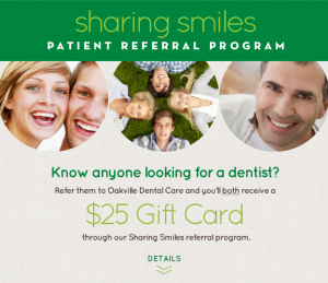 Sharing Smiles Our Patient Referral Program Oakville